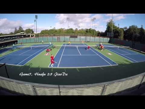HuaFu vs JiaoDa 2016 紫荆杯网球团体赛