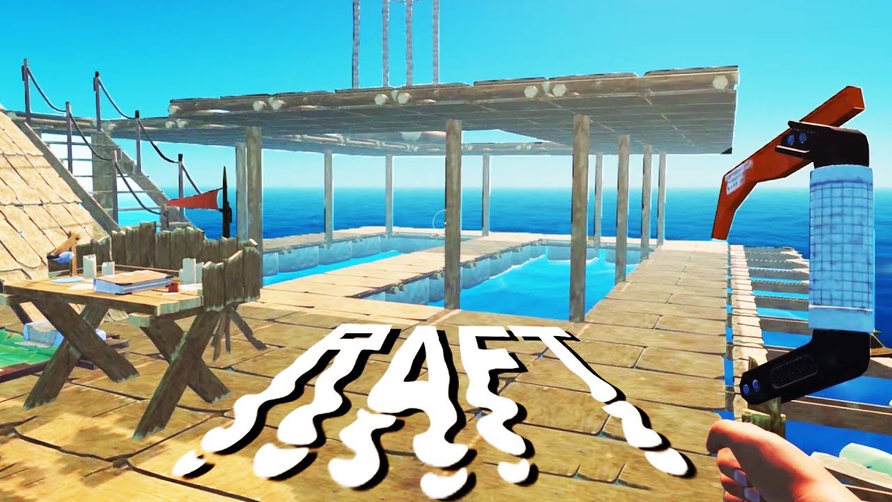 how to build a second floor in raft