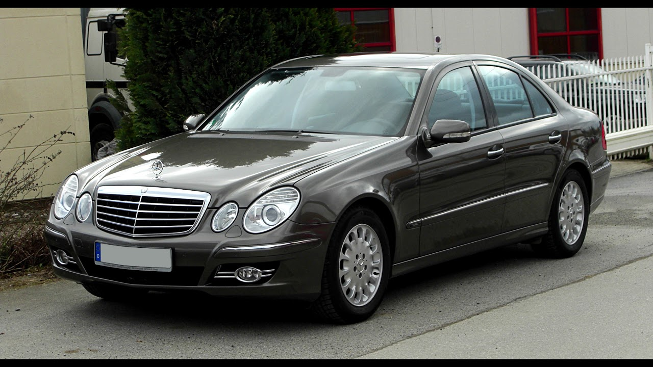 buying review mercedes benz e class w211 2003 2009. Black Bedroom Furniture Sets. Home Design Ideas