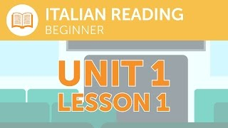 Italian Reading for Beginners - What is the Last Stop of this Train?