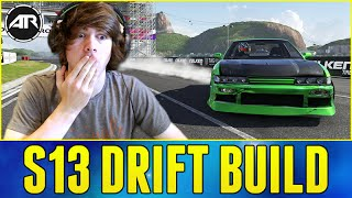 Forza 6 Drifting : Nissan S13 Drift Build!!! (S13 Drift Missile)