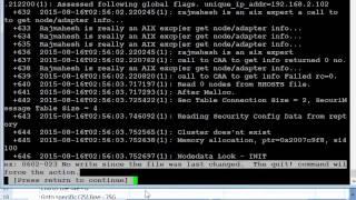 IBM AIX 7.2 training in Chennai-TTA-VI Editor