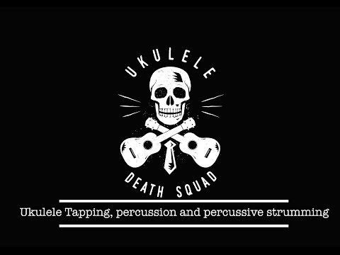 Ukulele -  Percussion and Tapping Demonstration