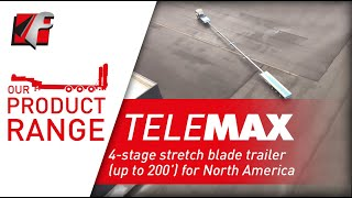 FAYMONVILLE TeleMAX - 4-stage stretch blade trailer (up to 200') for North America