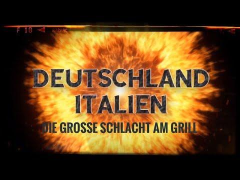 Deutschland - Italien (die grosse Schlacht am Grill)