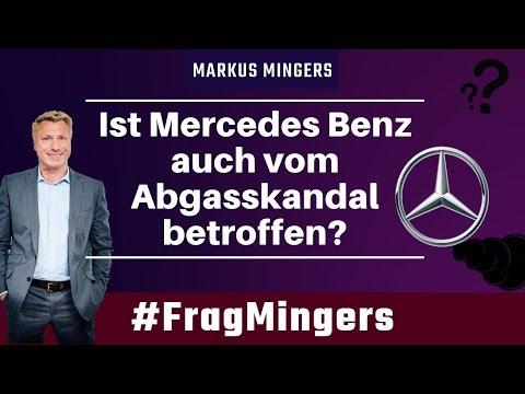 Ist Mercedes Benz auch vom Abgasskandal betroffen? | #FragMingers