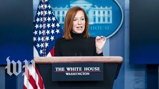 White House press secretary Jen Psaki holds news conference - 2/24 (FULL LIVE STREAM)