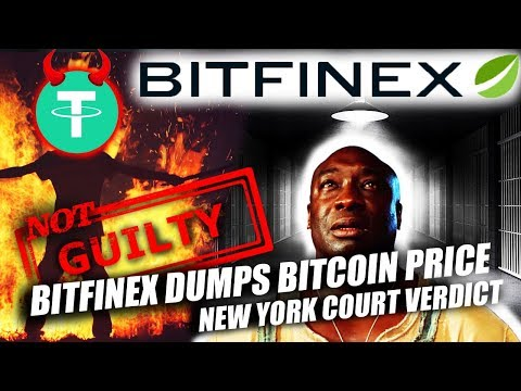 BITFINEX COURT DECISION DUMPS BITCOIN PRICE!