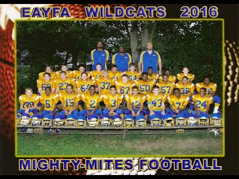 East Allegheny Wildcats  2016 Might Mites Highlight Tape