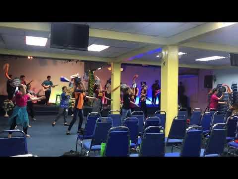 AKU DIBERKATI - SIB ZON SELATAN (DANCE PATTERN)