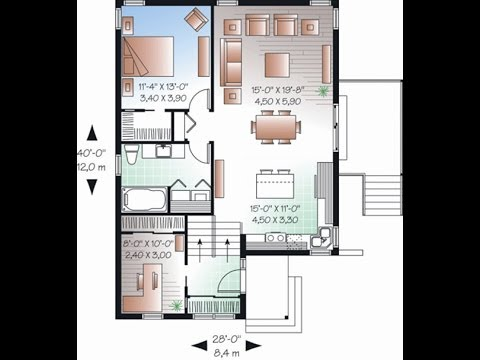 Denah Desain Rumah Type 36 Minimalis