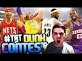 Throwback Slam Dunk Contest! Young Kobe & Lebron Duel! video