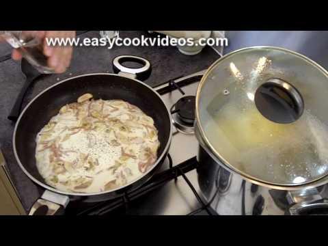 Quick Meals - Easy Pasta Recipes - Spaghetti Carbonara Recipe