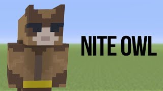 Minecraft | How to Build Nite Owl