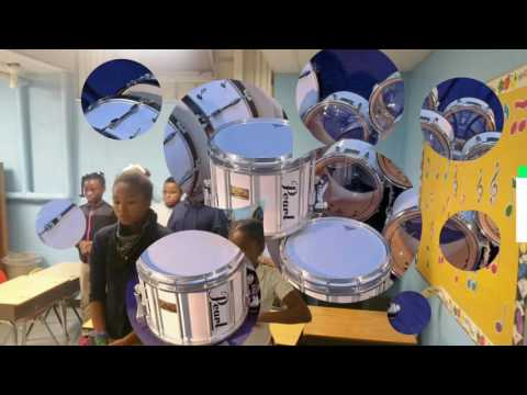"""Academy of Educational Excellence """"DRUMLINE"""" Video#1"""