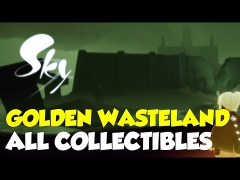 Sky: Children Of The Light Golden Wasteland All Collectible Locations (All Stars & Spirits)