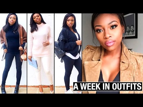A WEEK IN MY OUTFITS | WINTER EDITION