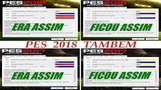 COMO JOGAR  ( PES 2017  2018)  EM PC FRACO , E DEIXAR NOS GRAFICOS ALTOS, ATUALIZADO 2018,TESTE .