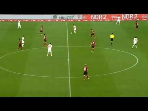 Carlos Gruezo vs Hannover 96 | 1.Bundesliga | 25/4/14