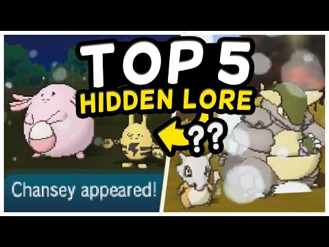 Top 5 SECRET LORE Hidden in SOS Battles! (Pokemon Sun and Moon)