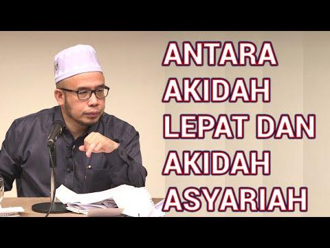 DR MAZA - Antara Akidah Lepat Dan Akidah Asyariah