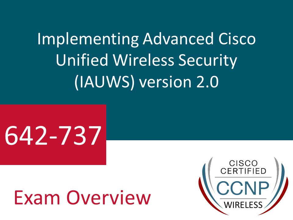 642 737 Cisco Ccnp Wireless Certification Certifyguide Exam Video