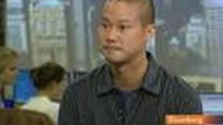 Hsieh Says Zappos.com-Amazon.com Deal Made `Most Sense': Video