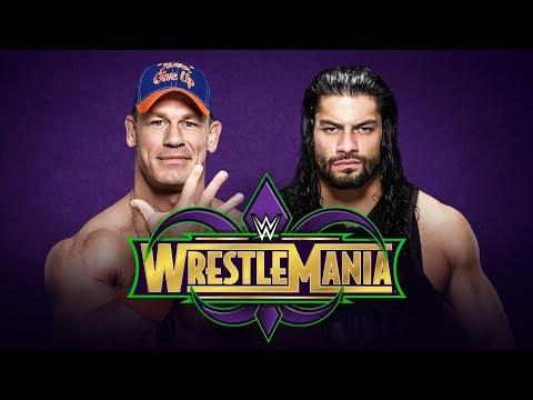 Roman Reigns VS John Cena Promo|| Wrestlemania 34|| Dream Match