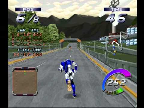 Running High, An Obscure PS1 Racing Game