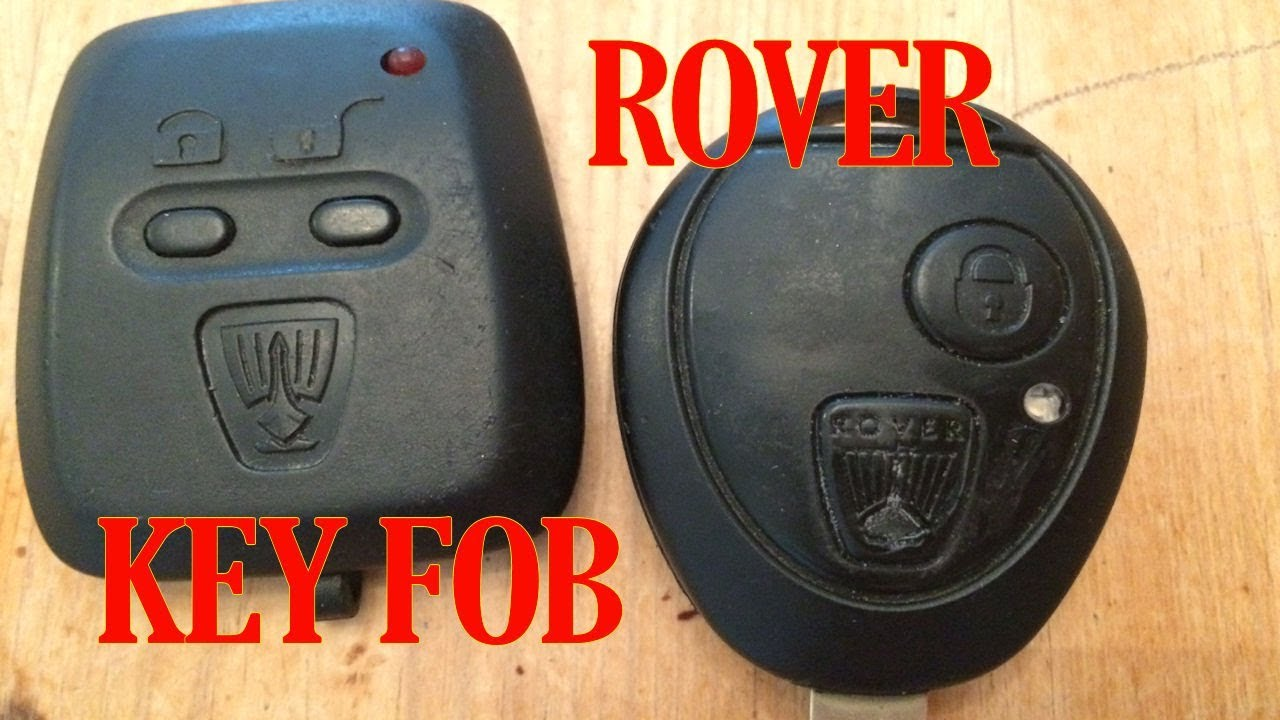 rover key fob battery change youtuberover key fob battery change