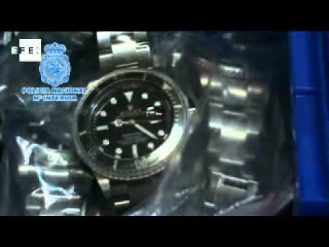 f738462e868b 15 detenidos por vender relojes falsos - YouTube