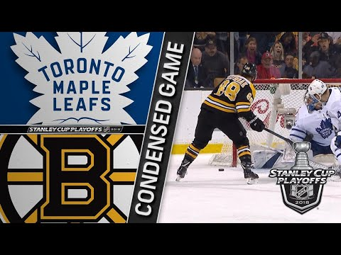 04/21/18 First Round, Gm5: Maple Leafs @ Bruins