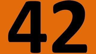 ПОВТОРЕНИЕ   АНГЛИЙСКИЙ ЯЗЫК ДО АВТОМАТИЗМА УРОК 42 УРОКИ АНГЛИЙСКОГО ЯЗЫКА