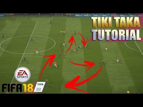 TUTORIAL TIKI TAKA - NAO ERRE MAIS PASSES E TENHA CONTROLE DO JOGO (FIFA 18)