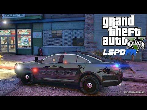 GTA 5 LSPDFR 0.3.1 - EPiSODE 378  - LET'S BE COPS - CITY PATROL (GTA 5 PC POLICE MODS)