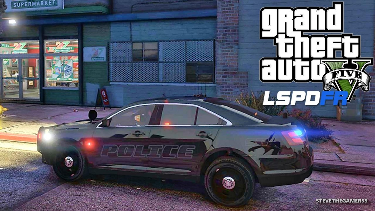GTA 5 LSPDFR 0 3 1 - EPiSODE 378 - LET'S BE COPS - CITY PATROL (GTA 5 PC  POLICE MODS)