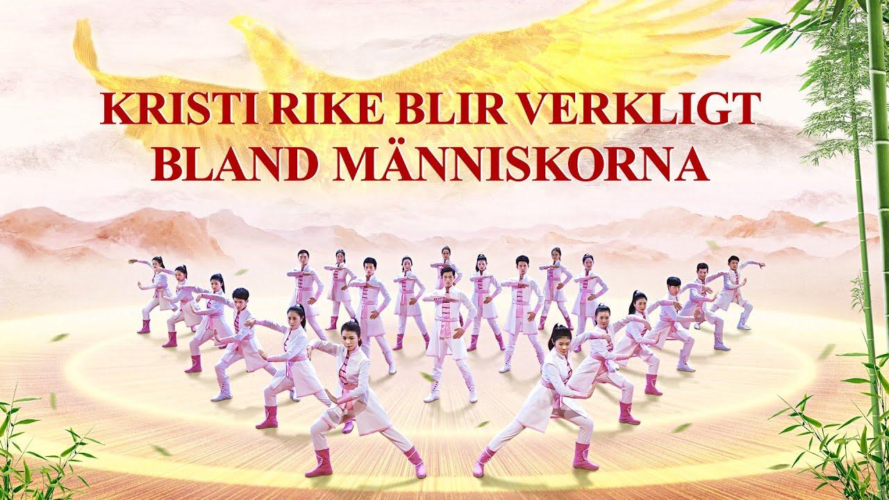 """Lovsångsdans - """"Kristi rike blir verkligt bland människorna"""" Alla länder och alla folk tillber Gud"""
