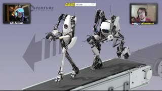 Stream Highlight ~ Portal 2: NO MORE SEX JOKES