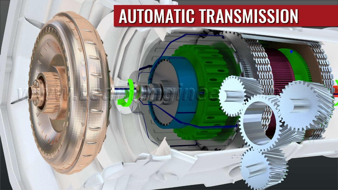 automatic transmission how it works viyoutube