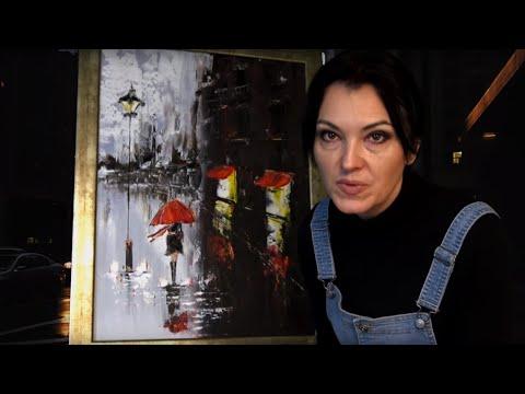 Jak namalować obraz - miasto