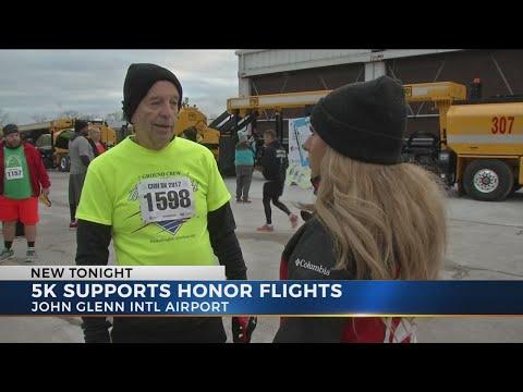 First 5K at John Glenn Airport raises money for Columbus Honor Flight