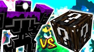 ROBO POUNDER VS. LUCKY BLOCK ESPECIAL (MINECRAFT LUCKY BLOCK CHALLENGE)