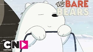 We Bare Bears | The Bear Bros' Origin Story: Ice Bear | Cartoon Network Africa