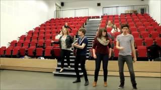 University of Derby Glee Club Does Comic Relief (One Way Or Another)