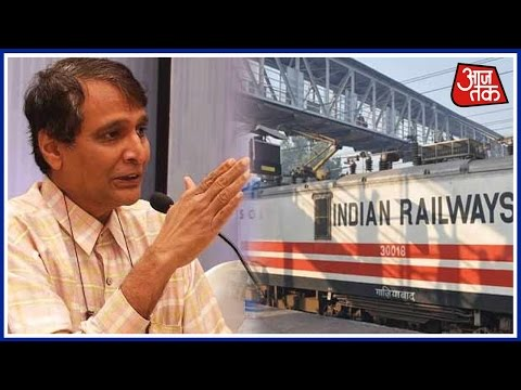 Suresh Prabhu Promises New Measures To Revamp Indian Railway