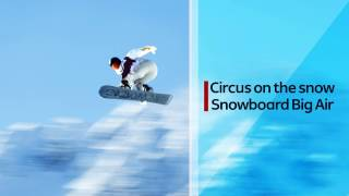 (ENG) Introducing the new Olympic event - Snowboard Big Air