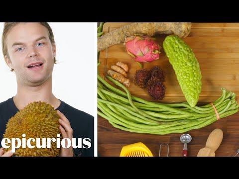 50 People Guess Fruits & Vegetables | Epicurious