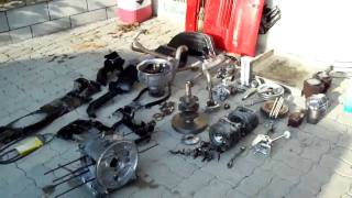 STEYR PUCH 500  ENGINE BUILD UP TO 760CC  1968 650-T