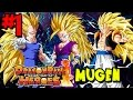 ONE OF THE BEST DBZ FREE GAMES EVER Dragon Ball Heroes MUGEN Episode 1