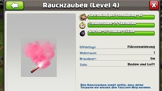 [idee] RAUCHZAUBER! - NEUER ZAUBER IN CLASH OF CLANS?! || LP COC [Deutsch/German HD+]